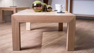 naturale solid oak rectangular coffee table modern white With washed oak coffee table