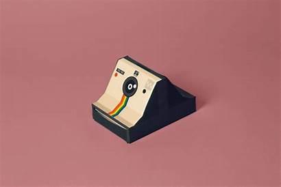 Polaroid Box Graphic Behance