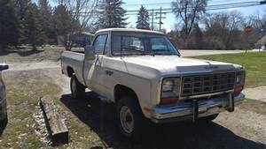 1985 Dodge Ram 1500 Prospector 4x4  318  Manual  West