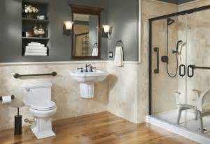 Bathroom Wall Cabinets With Towel Bar by Better Living Design In The Bath