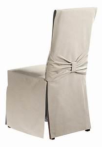 Housse Pour Chaise : mistral home housse pour chaise torino uniline oyster 2 pi ces collishop ~ Teatrodelosmanantiales.com Idées de Décoration