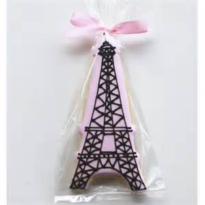 bakeshop philadelphia eiffel tower cookie favors