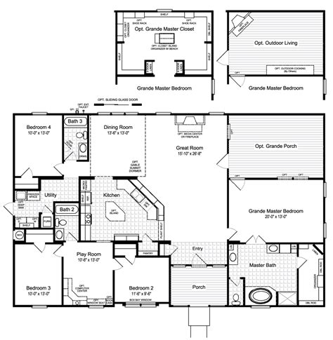 what is a floor plan view the hacienda ii floor plan for a 2580 sq ft palm