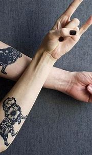 15 Beautiful Lion And Tiger Tattoos That'll Take Your ...