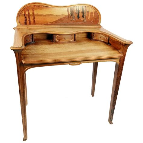 art desks for sale art nouveau inlaid writing desk and chair for sale at 1stdibs
