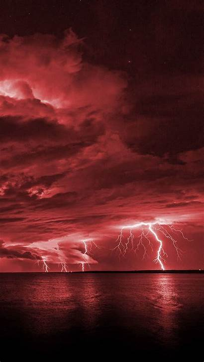 Iphone Background Wallpapers Aesthetic Lightning Backgrounds Phone