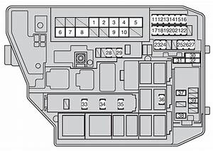 1997 Toyota Corolla Fuse Box Diagram