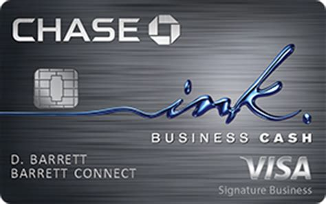 This card offers 1.5% cash back on all your purchases. Ink Business Cash Credit Card: Cash Back | Chase