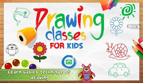 drawing classes  kids apk  educational android game
