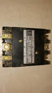 Ge Cr153eb072cja 50 Amp 115  120 Volt Coil Contactor