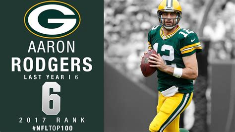 aaron rodgers qb packers top  players