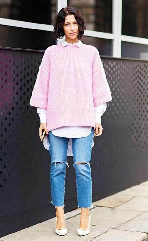 stylish ways  wear frayed denim glam radar