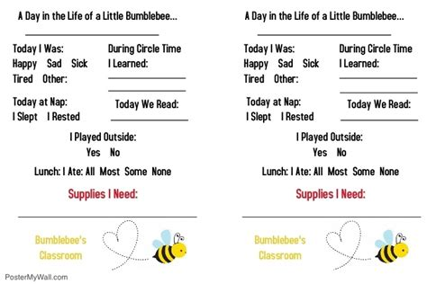 daycare toddler daily report template postermywall 114 | daycare toddler daily report flyer template 559882803db25a93ad3afec2031138e3 screen