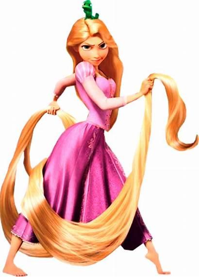 Rapunzel Holding Hairs Cartoonbucket Cartoons Tangled Character