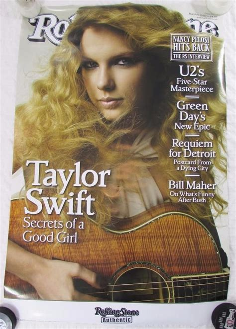 Rolling Stones Taylor Swift Poster Magazine Cover March ...