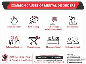 Common Causes OF Mental Disorders – GIPS Psychiatric ...