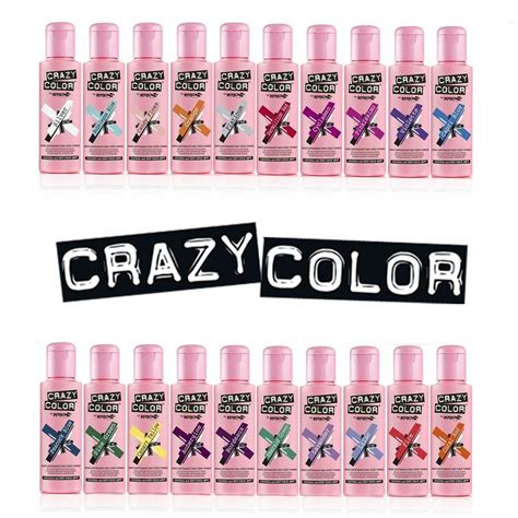 Crazy Color Renbow Hair Dye 100ml Choose Your Colour 26