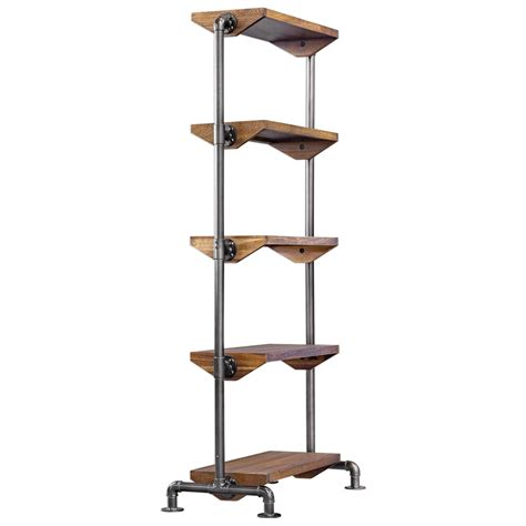 Industrial Etagere by Accent Furniture Bookcases Rhordyn Industrial Etagere