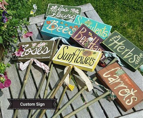 outdoor garden stakekids school garden labelsvegetable
