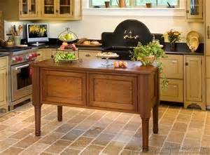 kitchen island legs wood pictures of kitchens traditional two tone kitchen cabinets kitchen 130