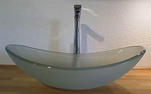 Waschbecken Oval Aufsatz : nero aufsatz glas waschbecken satiniert oval ~ Orissabook.com Haus und Dekorationen