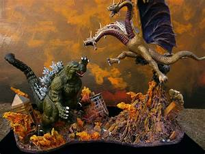godzilla verses king ghidorah Computer Wallpapers, Desktop ...