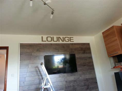 Tv In Wand Versenken by Tv Wand Wohnwand Gebaut