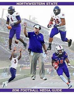2016 Northwestern State Football Media Guide by ...