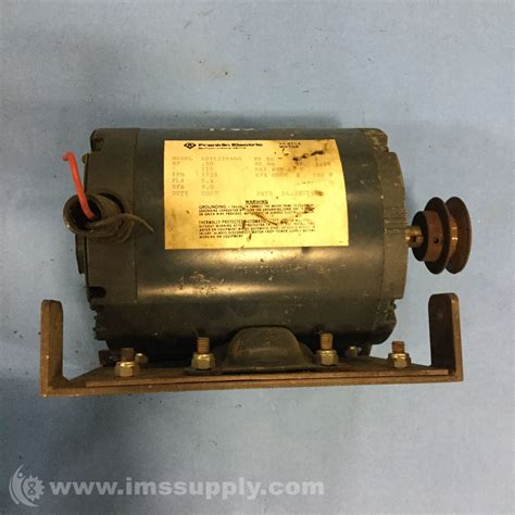 Franklin Electric Motors by Franklin Electric 1091270400 1 2hp 1750rpm 1ph 115v Motor