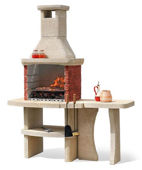 grill side table outdoor oxford stone bbq grill and side table 818 99