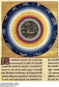 Cosmographical Diagram Showing The Celestial Spheres  Les Echecs Amoureux  1496  Motions Of The