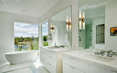 Large Shower Baths Ideas by How To Decorate Large Bathroom Spaces