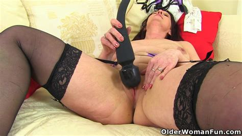 English Milf Beau Puts Her Sex Toy To Work Milf Porn