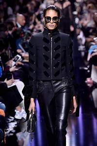 Cindy Bruna - Elie Saab Show Runway on Paris Fashion Week, March 2017