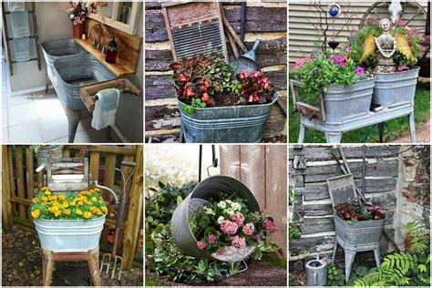 Was Kann Im Garten Machen by Gartendeko Selber Machen Eine Zinkwanne Bepflanzen