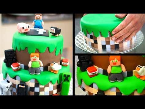 how to decorate a minecraft cake minecraft birthday cake tutorial