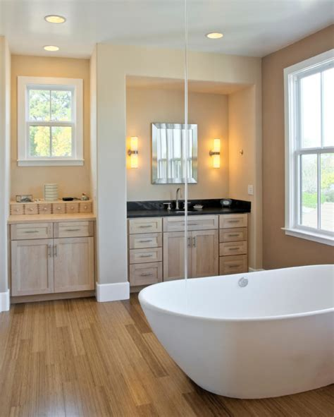 master bathrooms  wood floors pictures