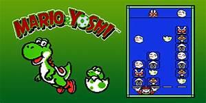 Mario Yoshi NES Games Nintendo