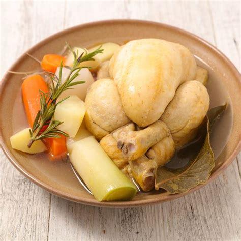 cuisine poule au pot recette poule au pot et riz
