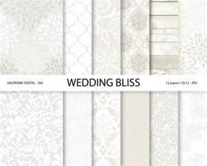 wedding paper wedding digital paper white wedding digital paper lace