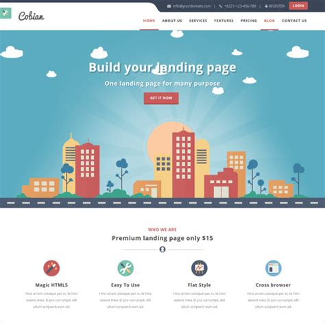free bootstrap website templates 20 marketing bootstrap themes templates free premium templates