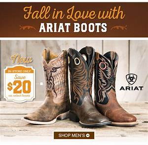 boot barn coupons ariat boots save 20 With ariat boots coupons code