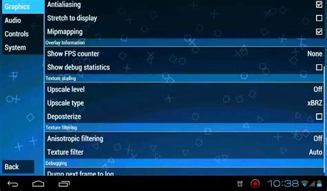 The New Psp Emulator Update Version 0.9.1 (android)