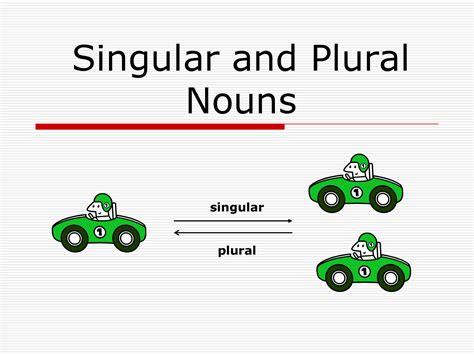 Singular Nouns Gallery