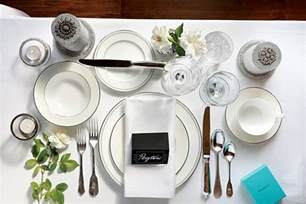 personalized china plates table setting how to set a proper table