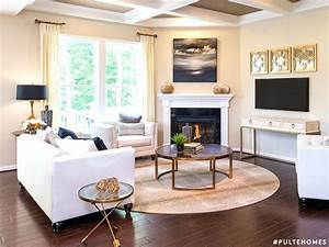 Decorating Living Room Around Fireplace Ideas Small With ...