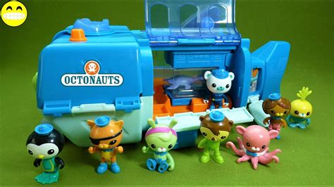 Octonauts Gup-w Reef Rescue Playset Unboxing Toy Review
