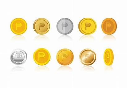 Vector Currency Peso Coins Symbol Clipart