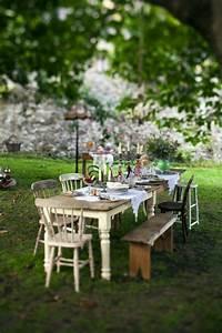 Table De Jardin Et Chaises : comment choisir une table et chaises de jardin ~ Teatrodelosmanantiales.com Idées de Décoration