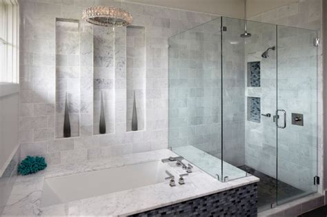 Carrara Marble Tile Bathroom by Bathroom Tile Bathroom Designs Westside Tile And